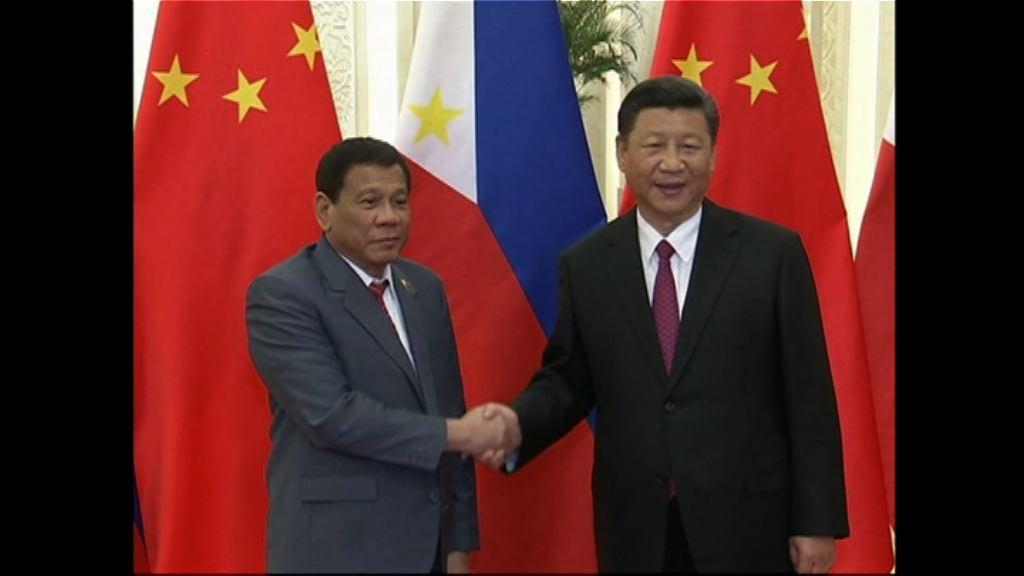 菲總統:習近平不准菲在受爭議海域鑽油