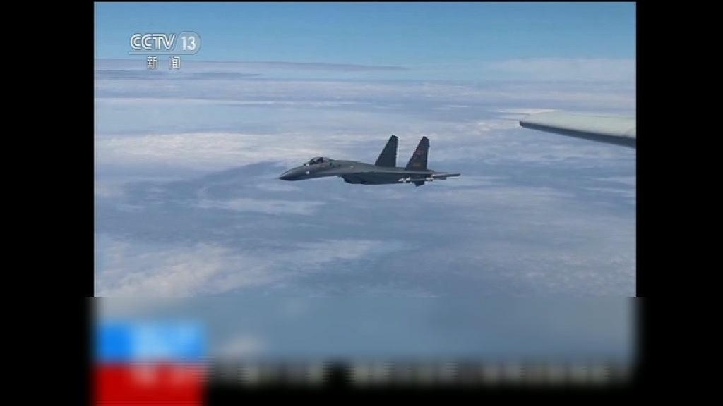 大陸出動多種戰機繞台飛行