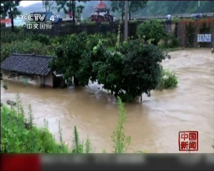 內地多個省份暴雨成災