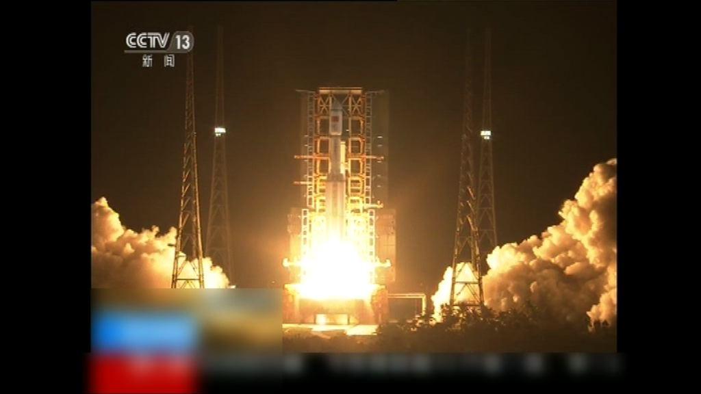 長征七號運載火箭首飛成功
