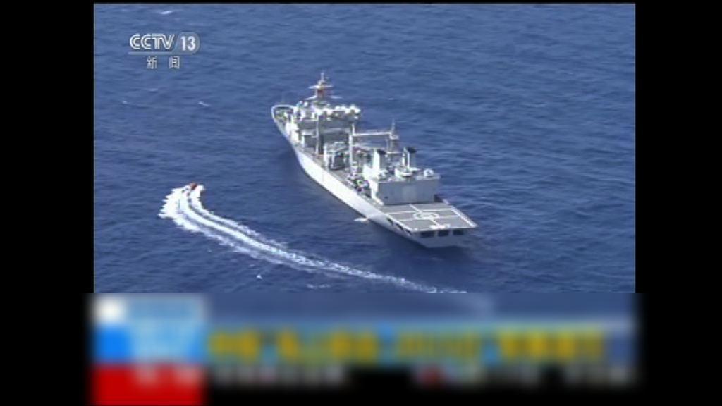 中俄周一起湛江以東海空域軍演
