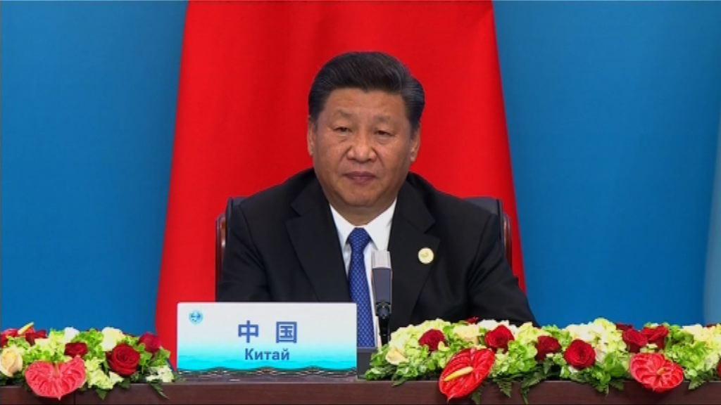 習近平指「上海精神」揭開國際關係史新一頁