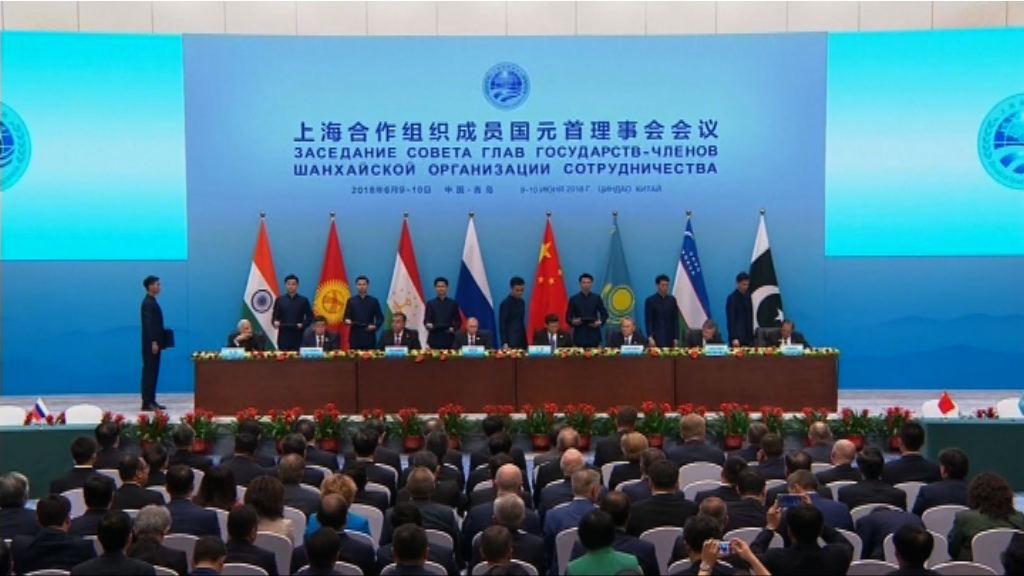 上海合作組織同意共同維護地區安全穩定