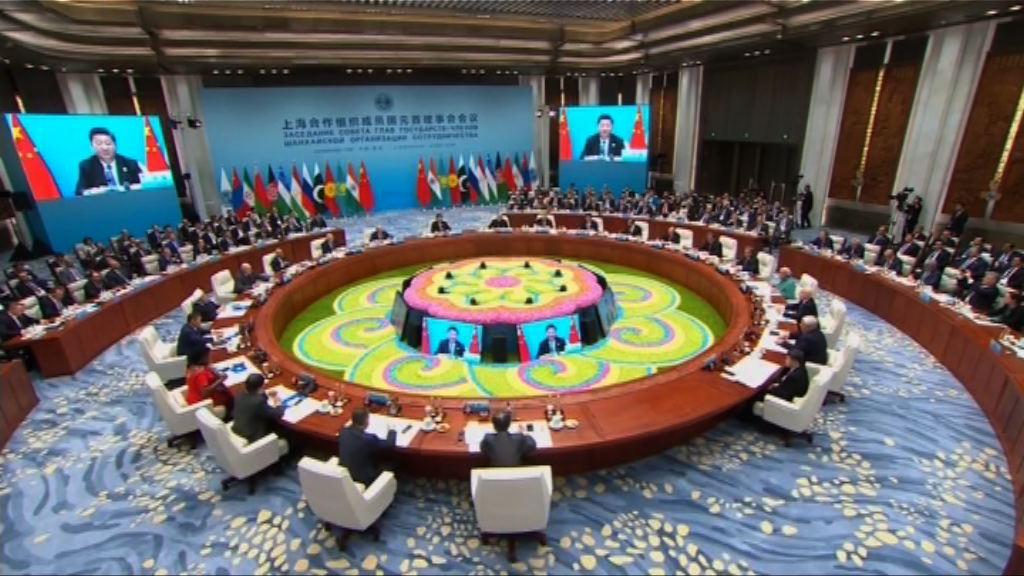 上海合作組織同意加強一帶一路發展