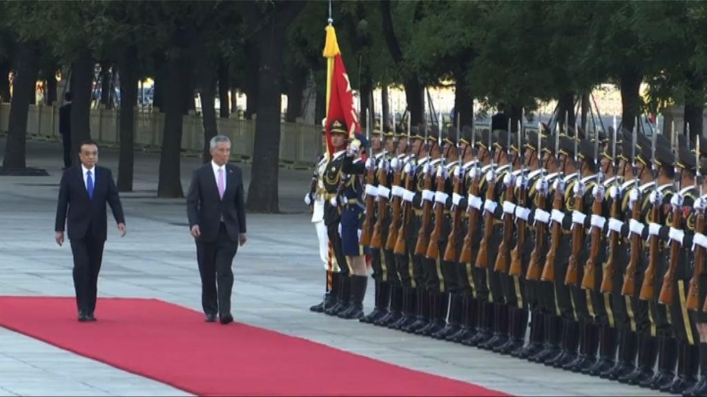 李顯龍訪華被指修補與中國關係