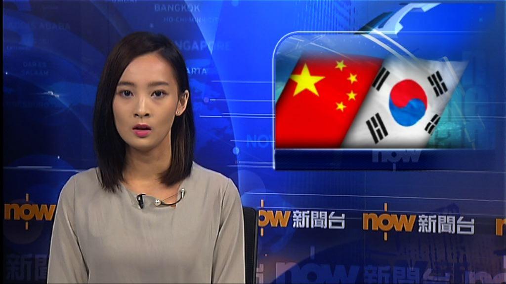 中韓同意推動各領域合作正常化