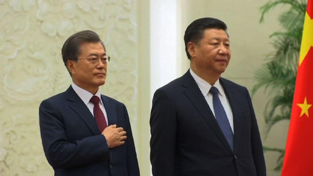 中韓雙方冀和平解決北韓核問題