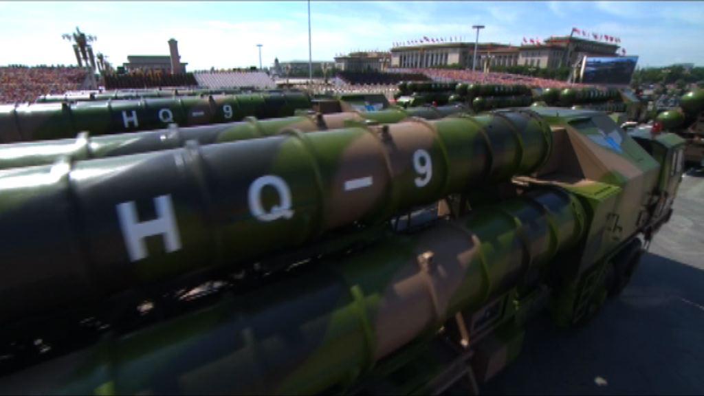 中方指有權在南沙部署必要防禦設施