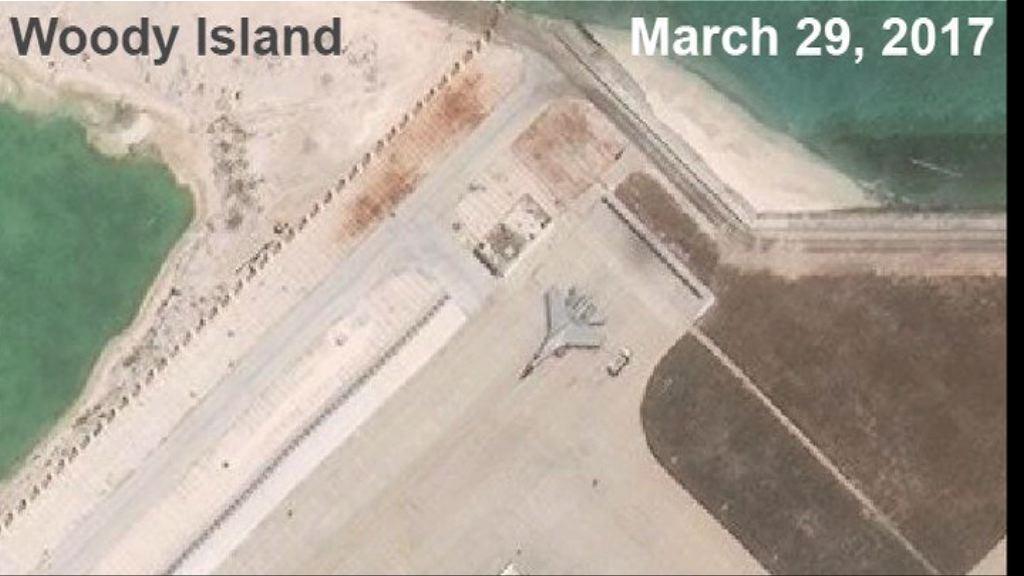 美國智庫:中方於永興島部署殲-11戰機