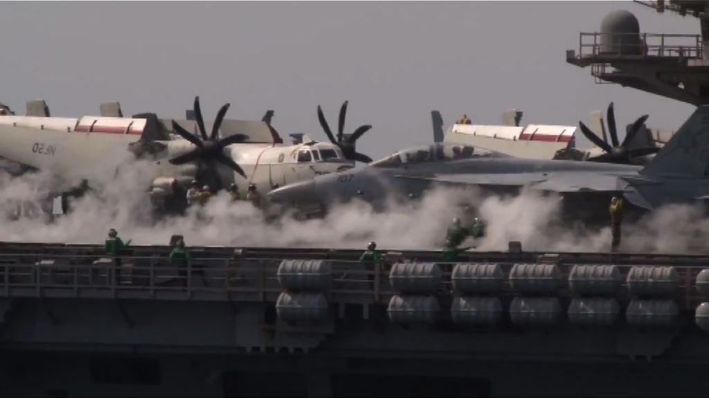 中美頻頻在南海展示軍事力量