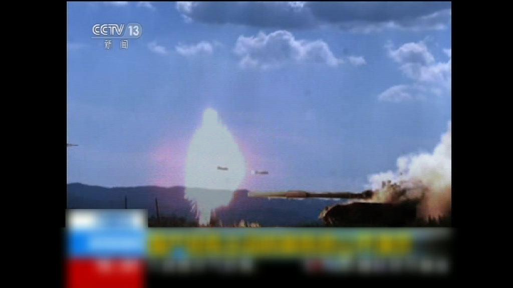 中國展出國產坦克主動防禦系統