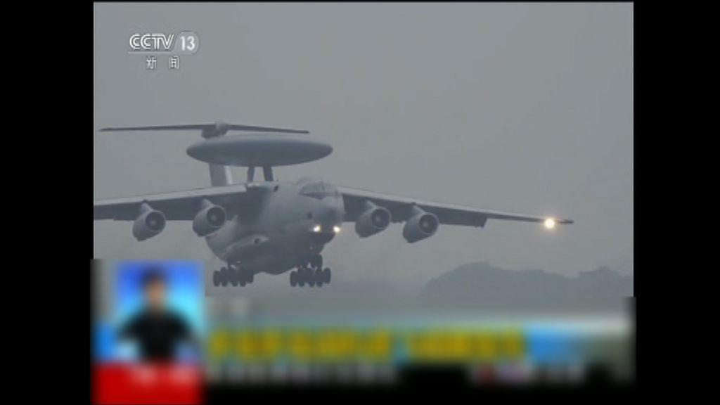解放軍軍機再度繞台飛行