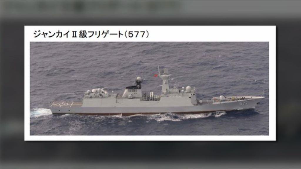 解放軍3軍艦繞台東部海域後返航