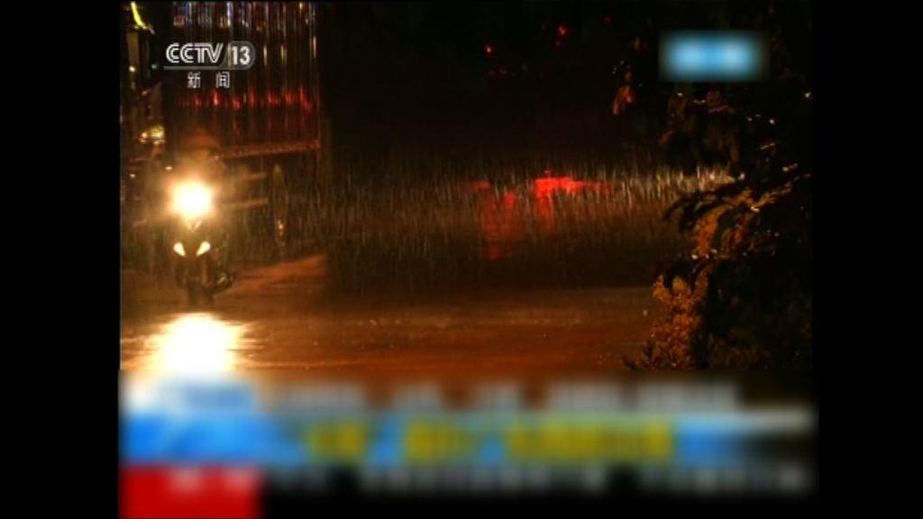 卡努逼近 廣東和海南多處大風大雨