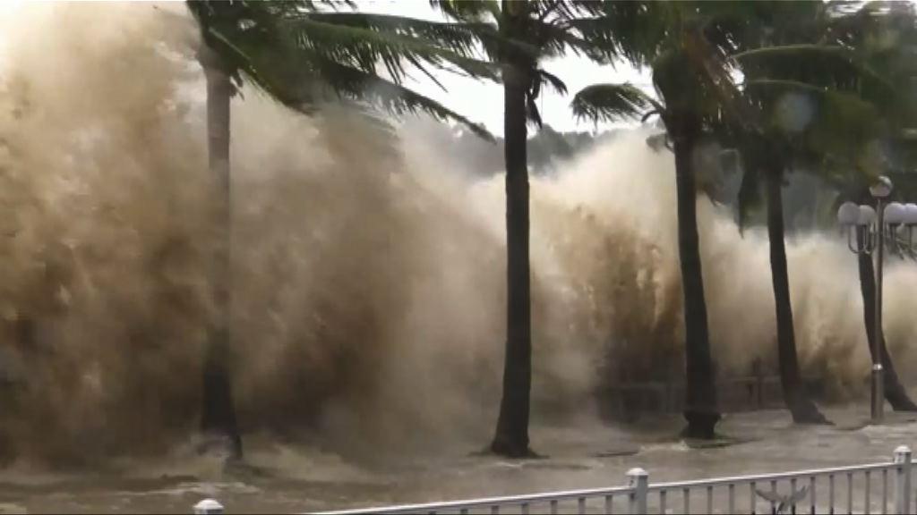 天鴿登陸珠海 為今年最強颱風