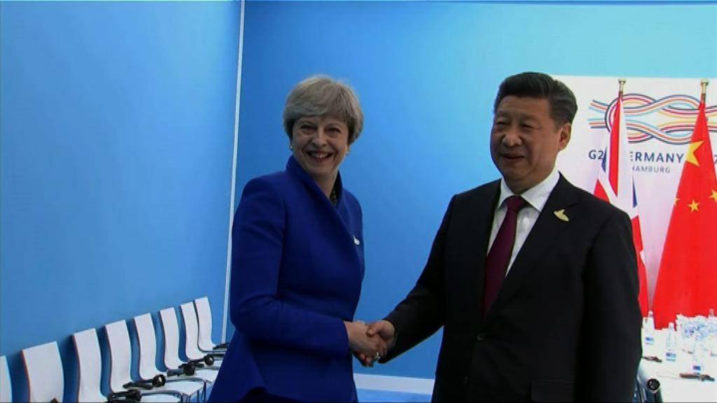 習近平:中方願推動中英中歐關係發展