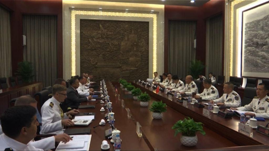 中美軍方高層會晤談及南海