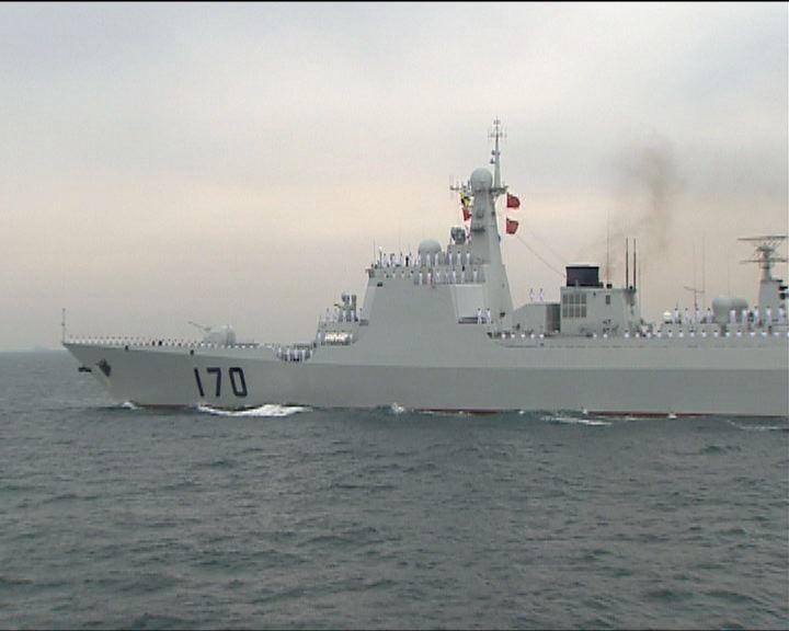 報道指中美軍艦在黃岩島相遇