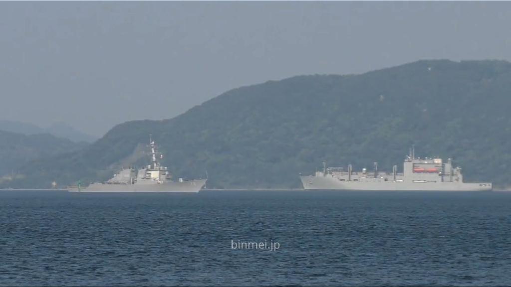 美軍艦駛入南海遭中國軍艦驅離