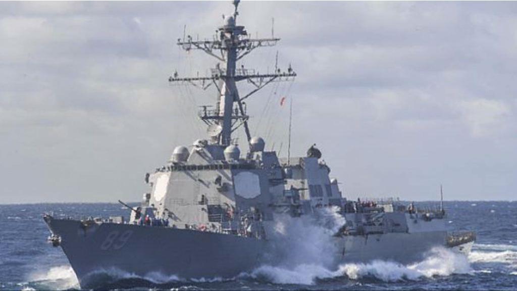 美軍驅逐艦駛入美濟礁12浬範圍