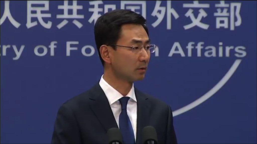 北京反對蔡英文外訪過境美國