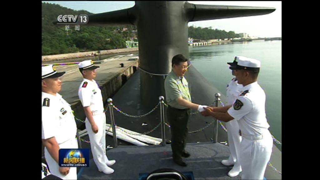 習近平視察北部戰區海軍