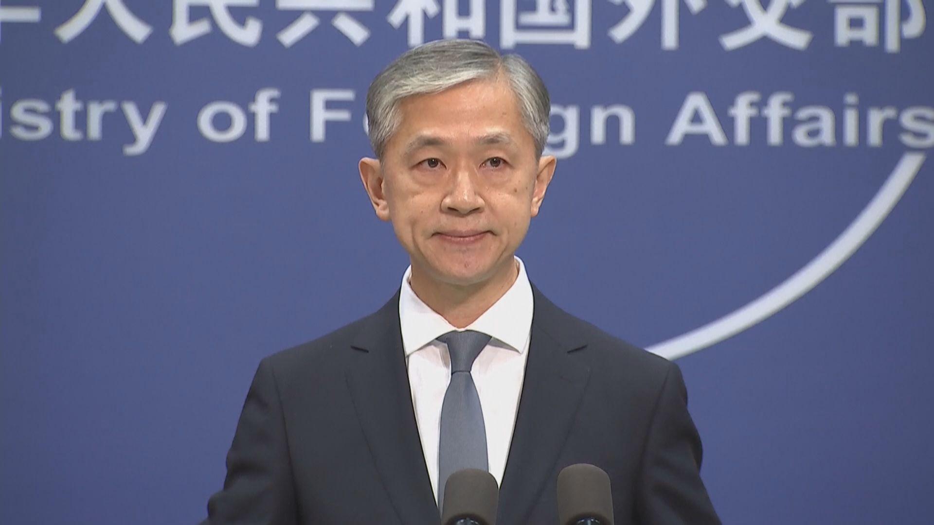 外交部:盼日方恪守一中原則 避免與台灣進行官方往來