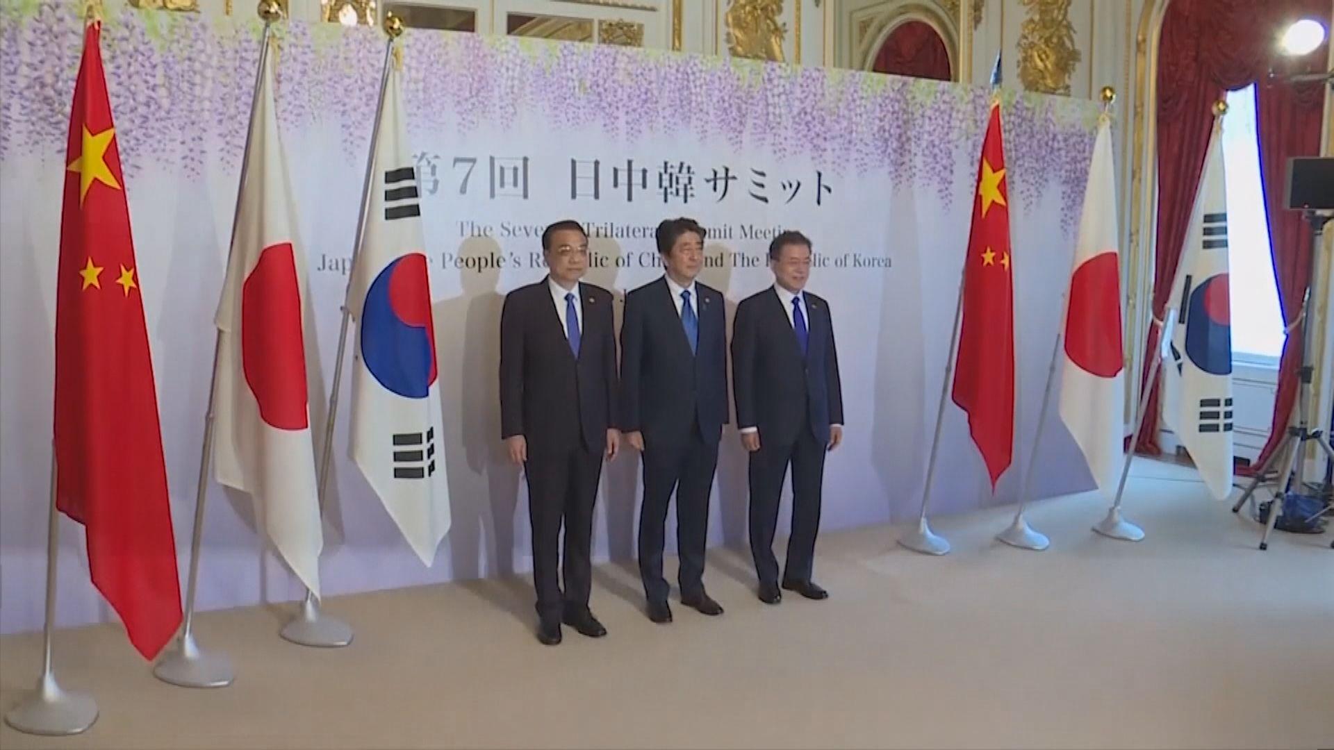 中日首腦會晤 安倍提出香港和釣魚島議題