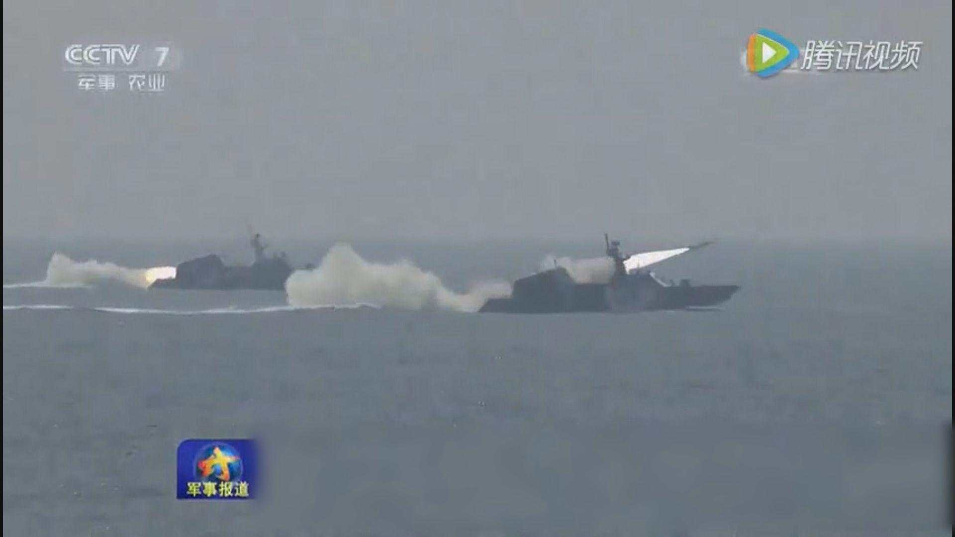 解放軍在渤海實彈演習 專家指警示或武力解決台灣問題