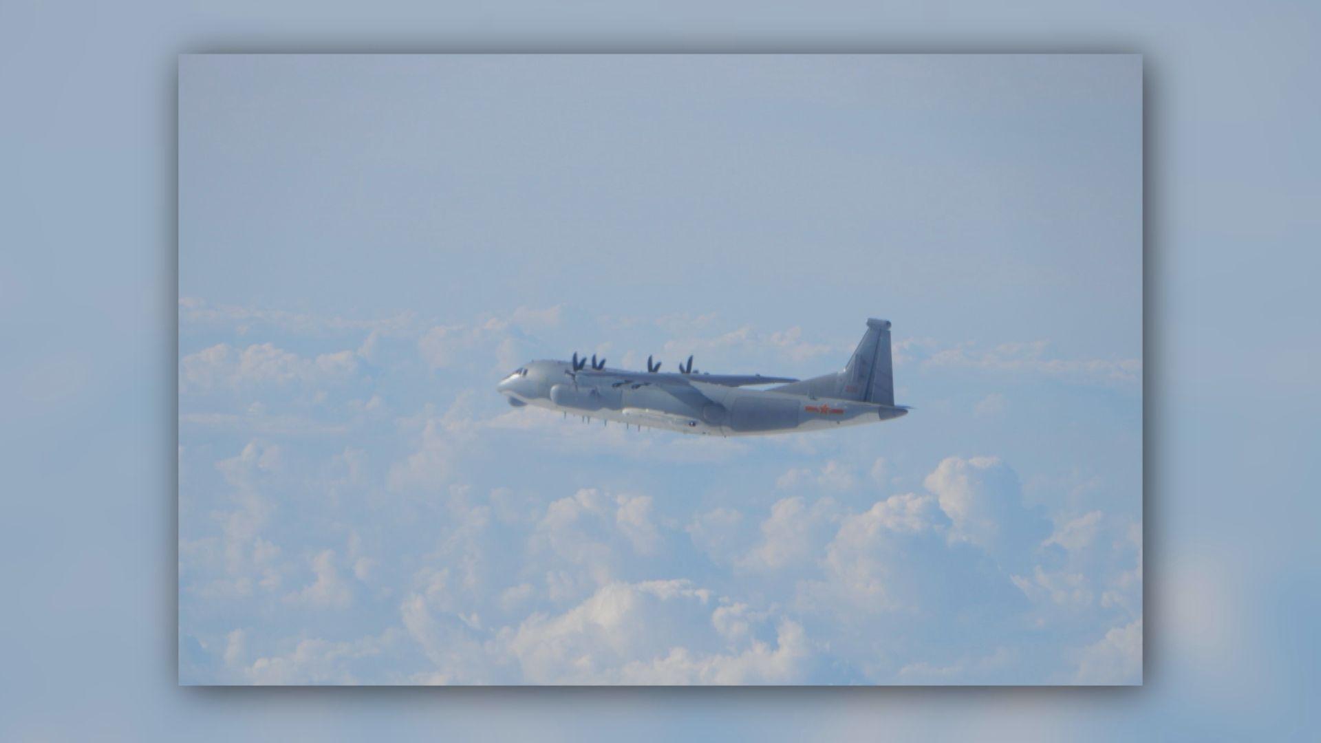 【雙十節前夕】解放軍兩軍機接近東沙島