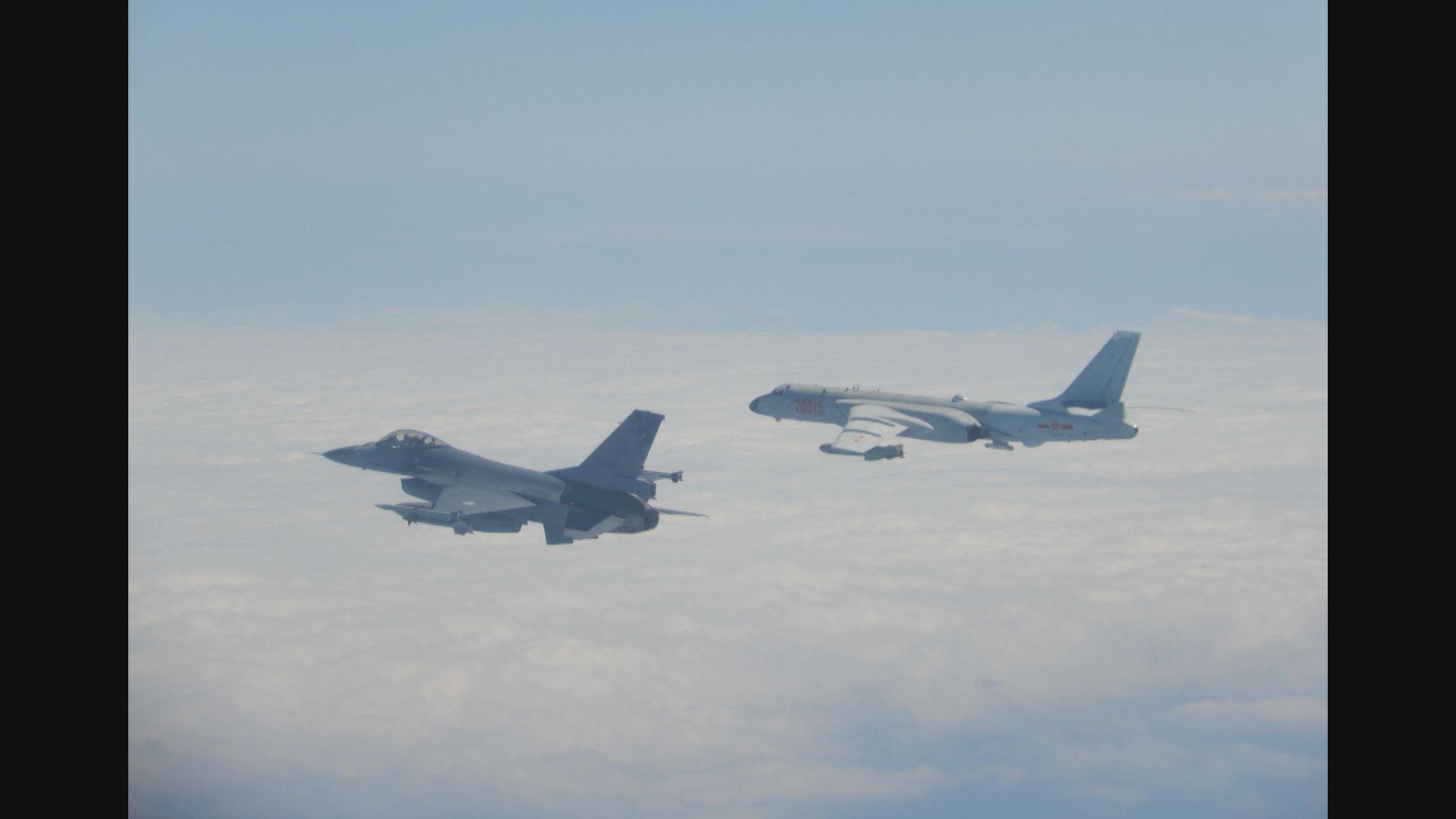 解放軍多架戰機據報連續兩日繞台飛行