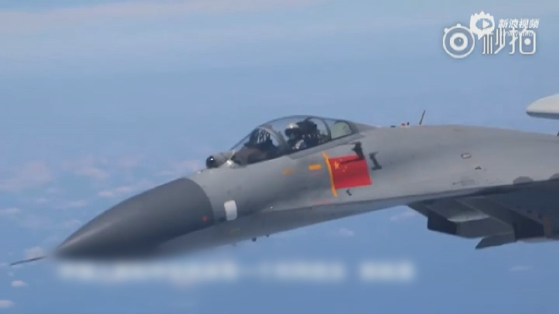 解放軍多架戰機連續兩日繞台飛行