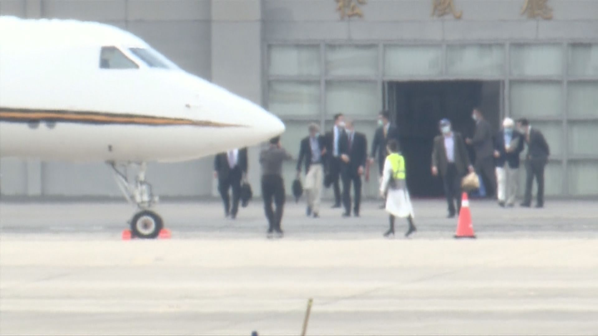 美國非官方代表團結束訪台行程