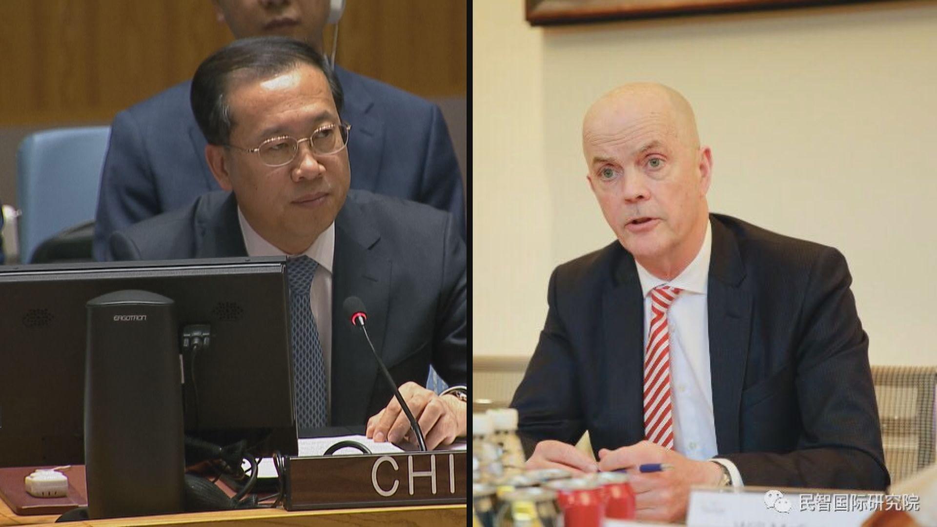 外交部召見美國駐華使館臨時代辦提嚴正交涉