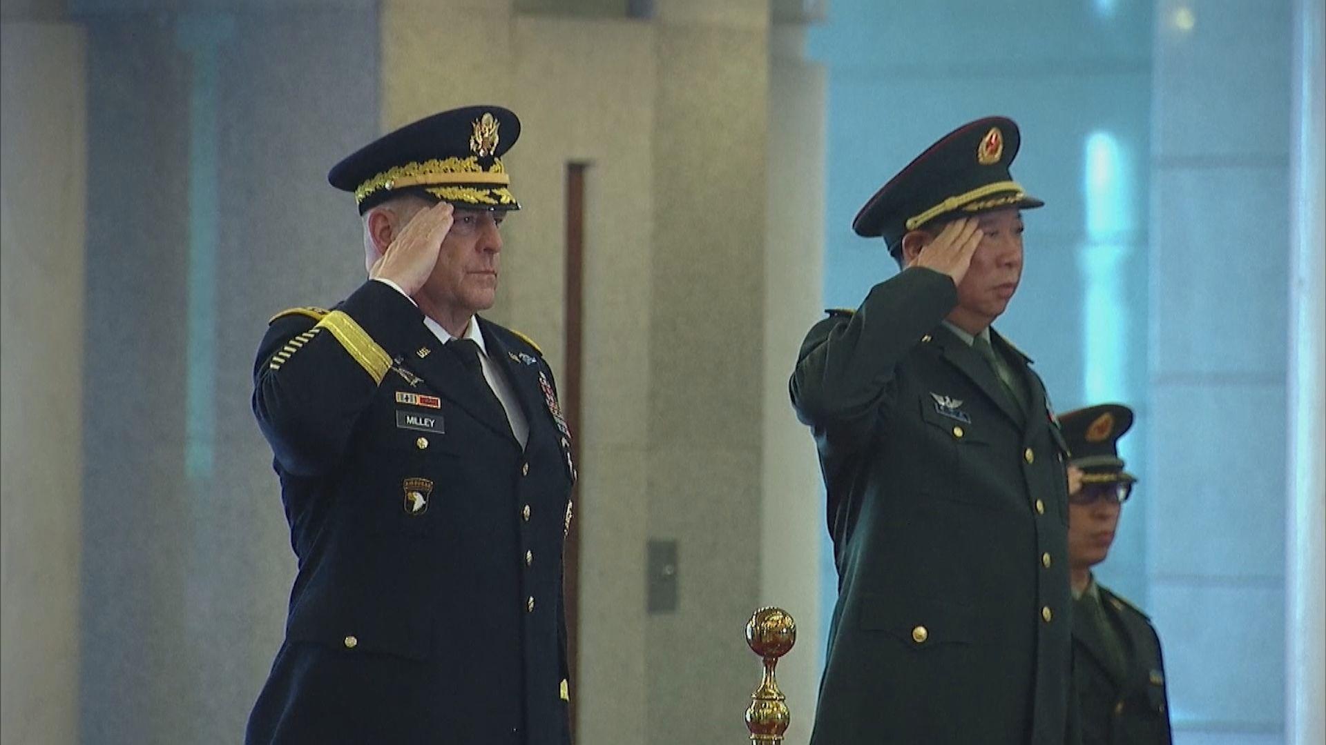 解放軍指美國需為中美軍事會議未有舉行負責