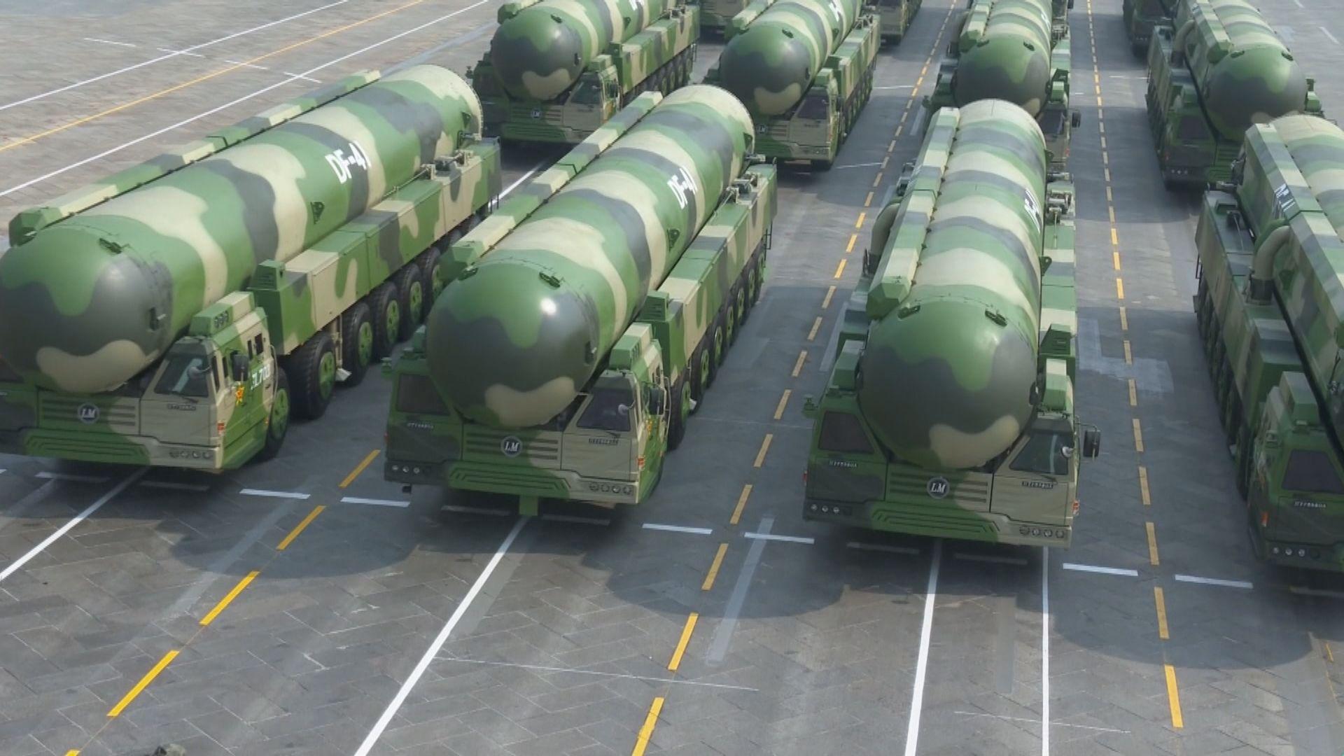 據報中國向南海試射中程彈道導彈