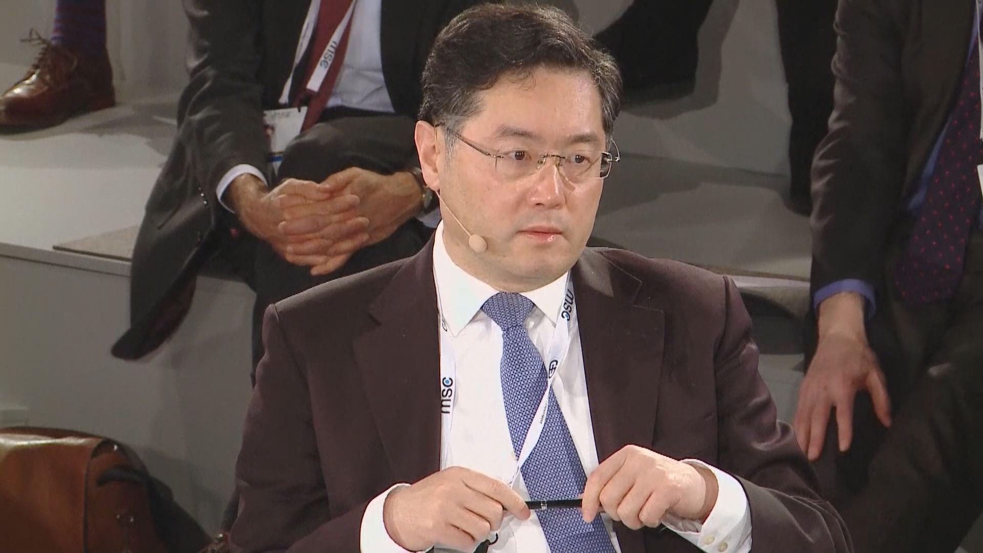路透社:秦剛出發赴美 料接任中國駐美大使