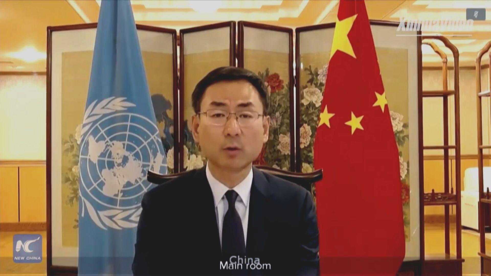 耿爽就美駐聯合國代表晤台北代表提嚴正交涉