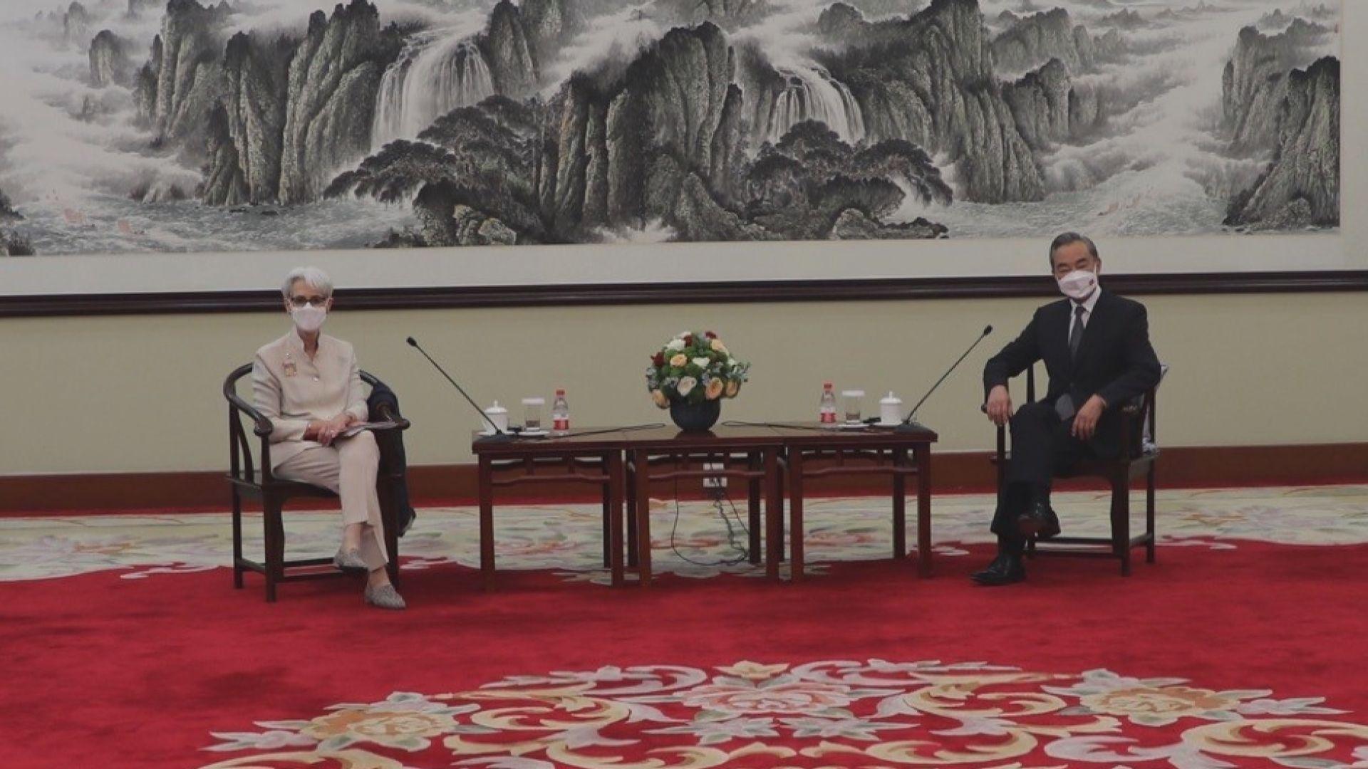 美副國務卿:與王毅談及美方對健康競爭和保障人權承諾