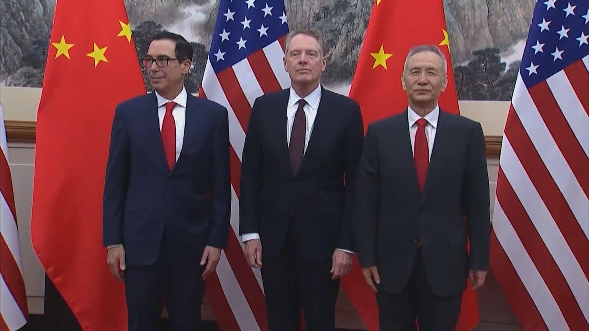 姆努欽指中美貿易談判會談具有成果