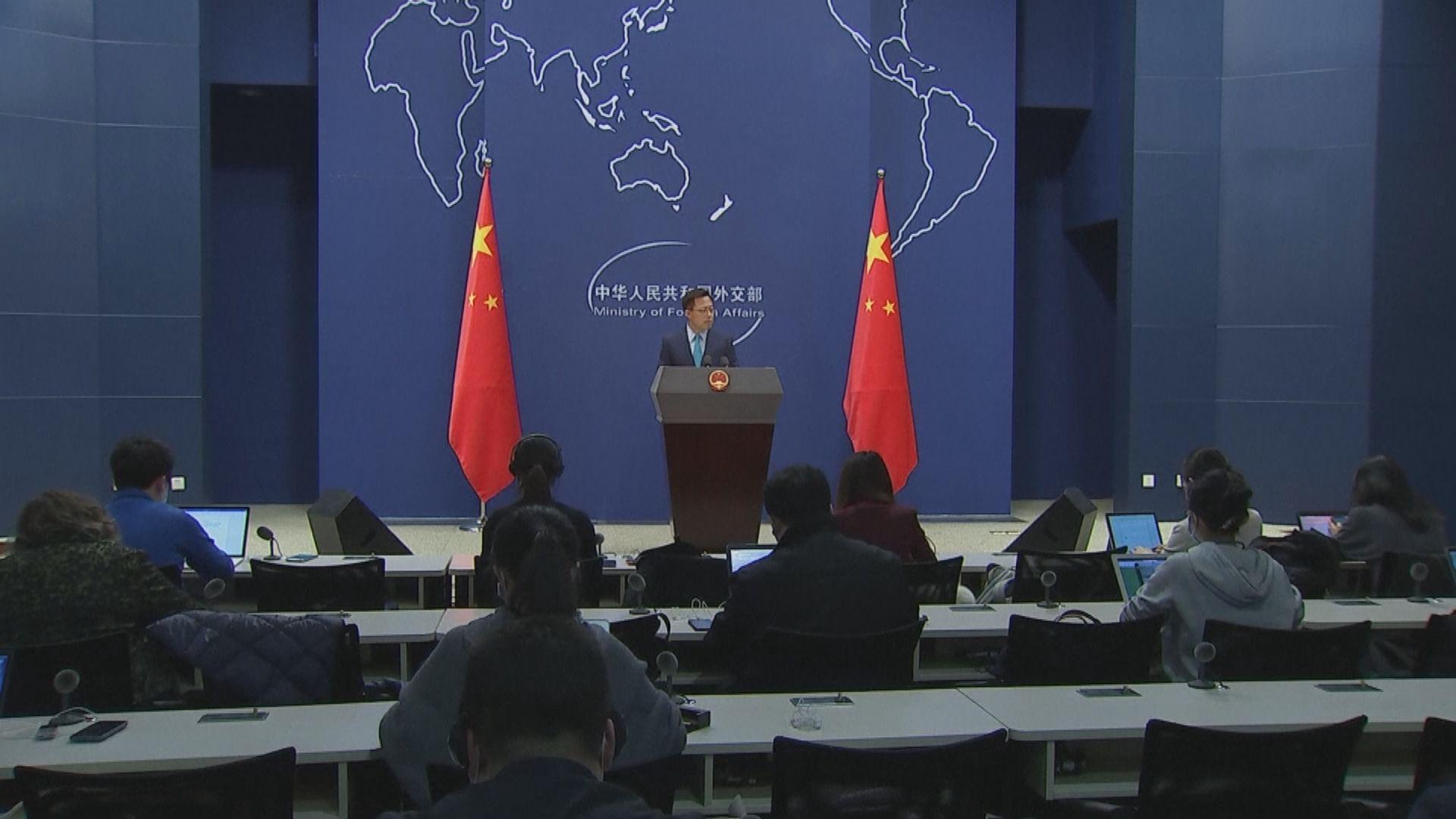中國否認要求美國外交人員進行肛拭子檢測