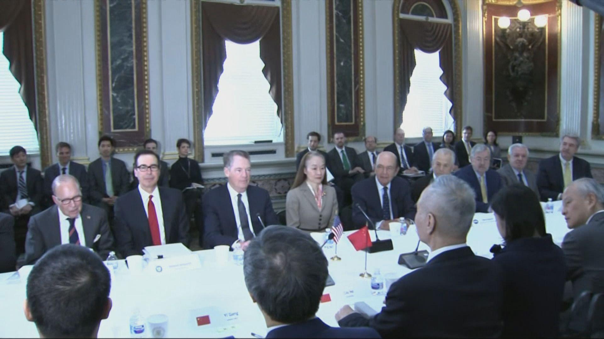 中美新一輪經貿磋商華盛頓舉行