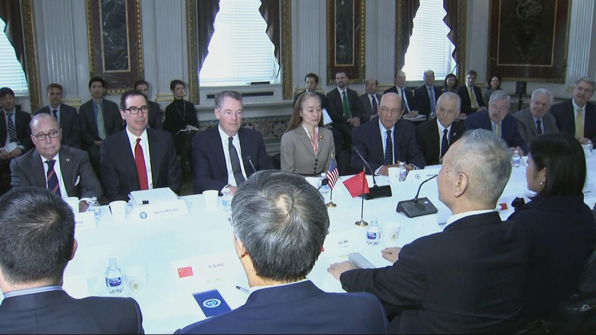 據報中美正草擬協議綱要結束貿易戰