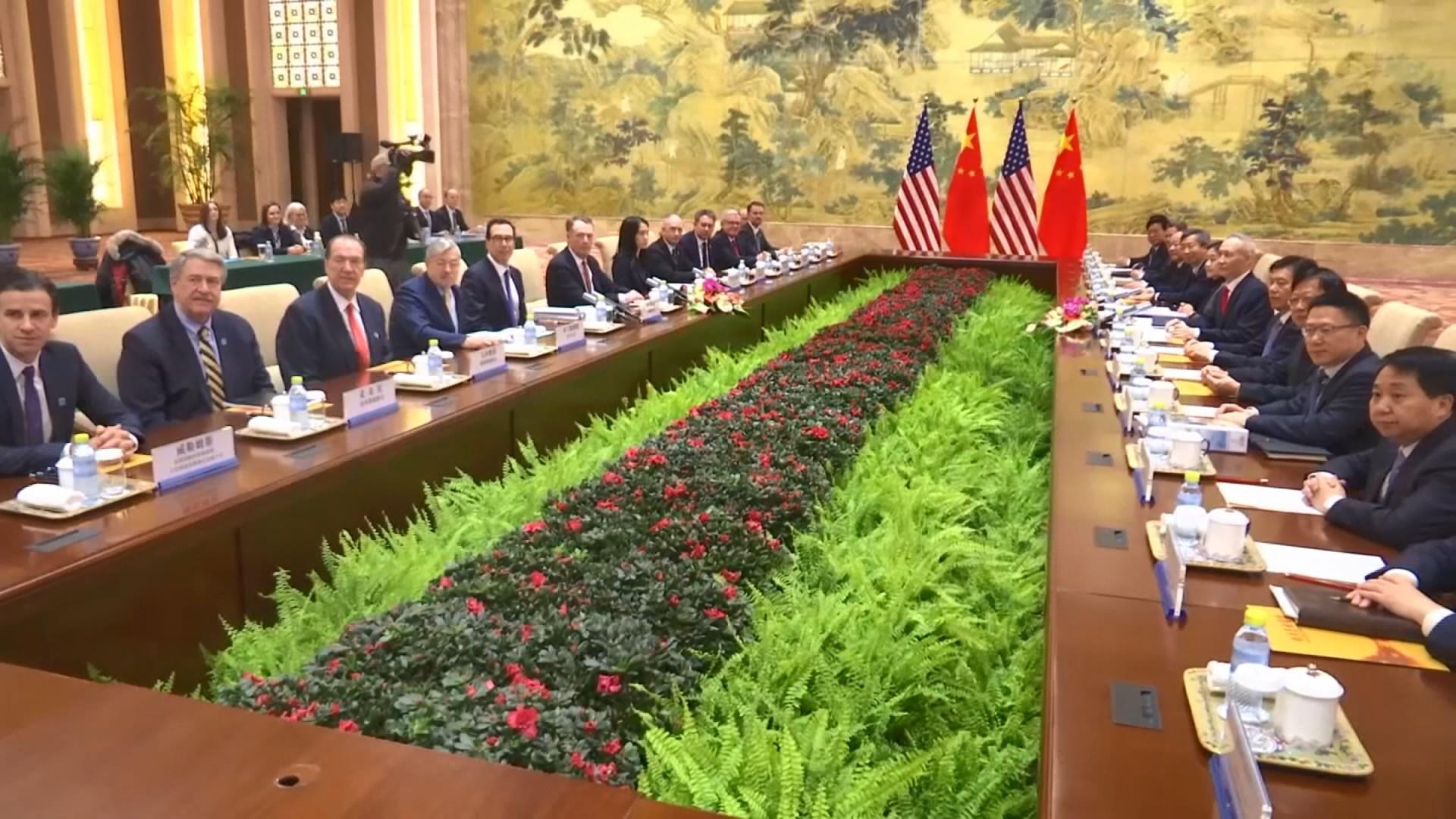 中美周四展開新一輪貿易談判