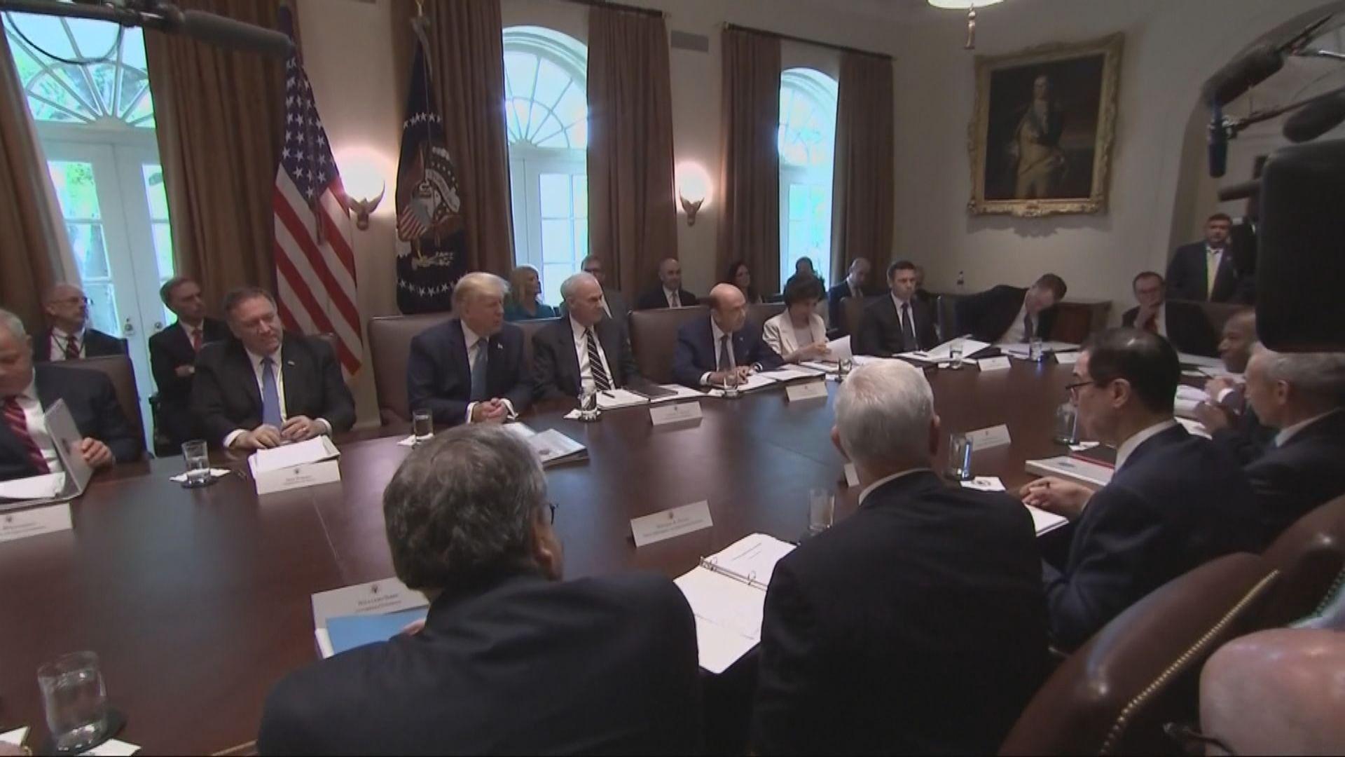 特朗普稱若他想的話可向餘下中國貨開徵關稅