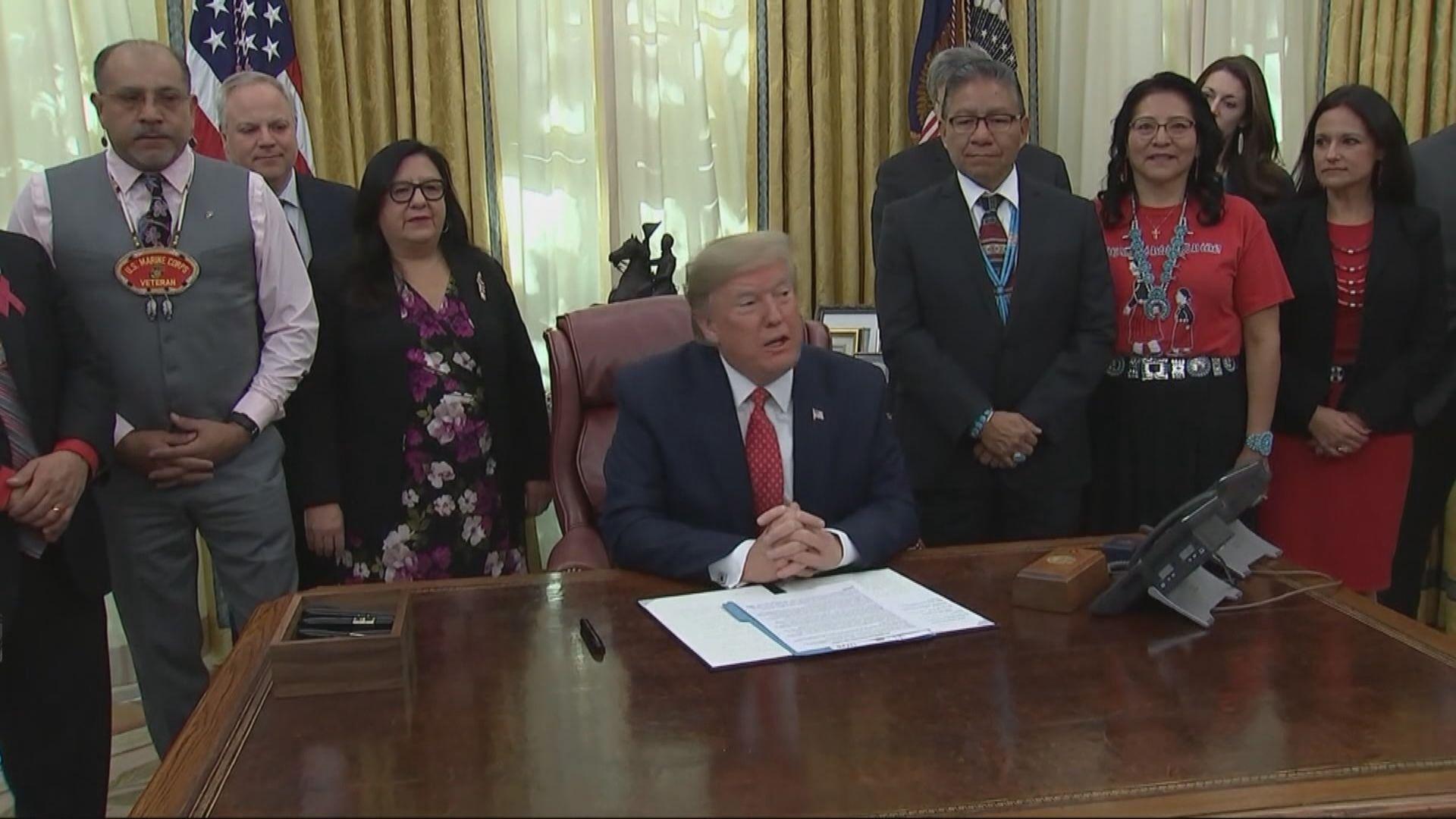 特朗普:中美達成貿易協議處於最後階段