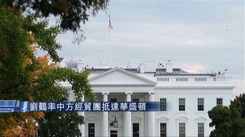 劉鶴率中方經貿團抵達華盛頓