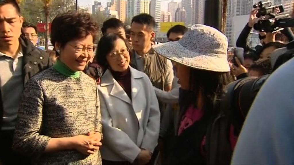 林鄭:政府會致力改善行政立法關係