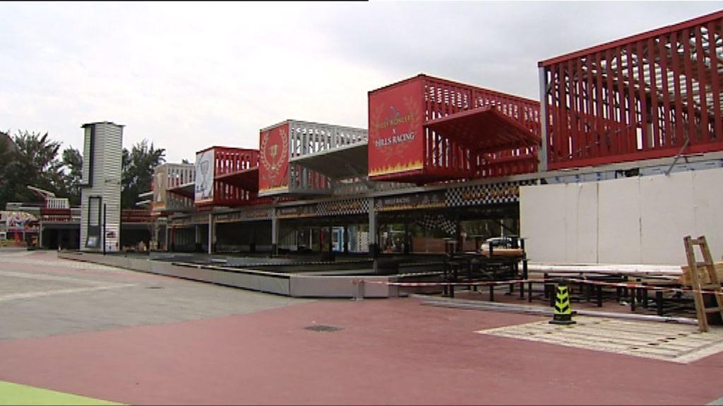 元朗新田購物城冷清 未能分流北區內地客