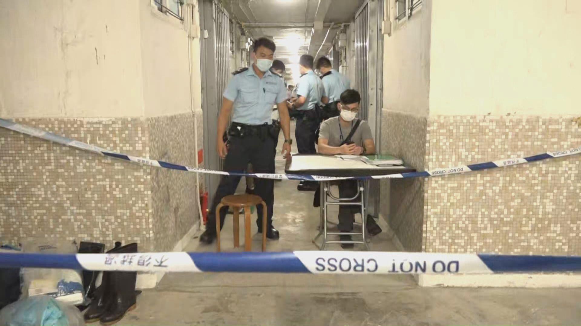 順利邨老婦倒斃單位內 警方初步認為案件有可疑